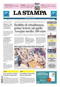 La Stampa Imperia e Sanremo - 3 Gennaio 2019