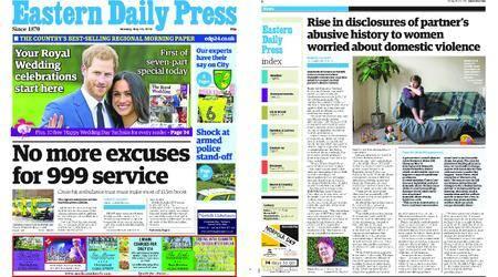 Eastern Daily Press – May 14, 2018