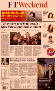 Financial Times Europe – 19 October 2019