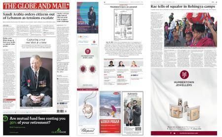 The Globe and Mail – November 10, 2017