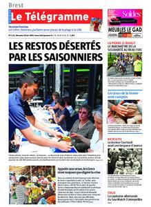 Le Télégramme Brest Abers Iroise – 30 juin 2019