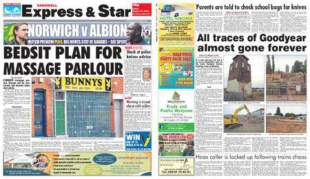 Express and Star Sandwell Edition – August 10, 2018
