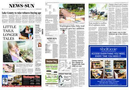 Lake County News-Sun – September 13, 2017