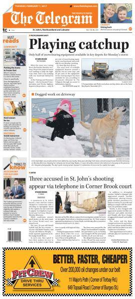 The Telegram - February 7, 2017
