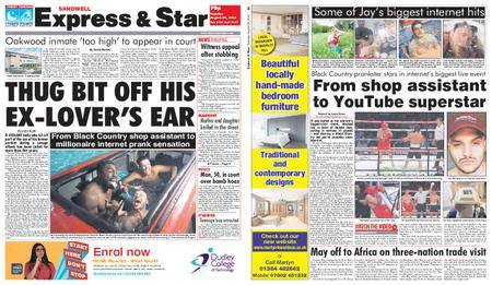 Express and Star Sandwell Edition – August 28, 2018