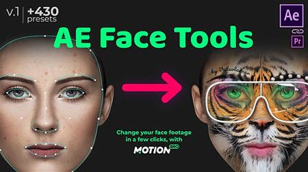 AE Face Tools - Project & Script for After Effects (Videohive)