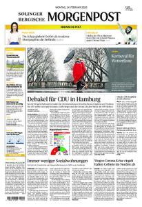 Solinger Morgenpost – 24. Februar 2020