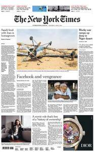 International New York Times - 25 April 2018
