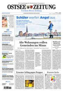 Ostsee Zeitung Wolgast - 25. April 2018