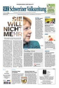 Schweriner Volkszeitung Hagenower Kreisblatt - 30. Oktober 2018