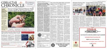 Gibraltar Chronicle – 22 April 2021