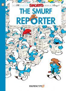Papercutz-Smurfs Vol 24 The Smurf Reporter 2020 Hybrid Comic eBook