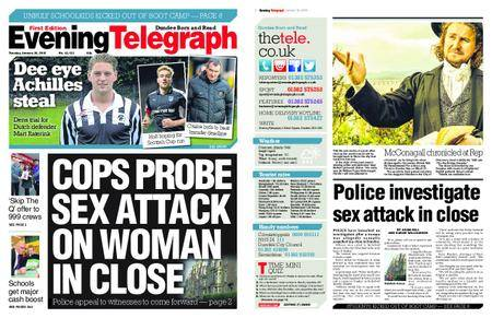 Evening Telegraph First Edition – January 30, 2018
