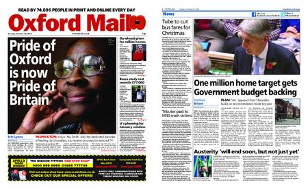 Oxford Mail – October 30, 2018