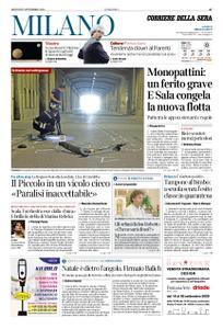 Corriere della Sera Milano – 17 settembre 2020