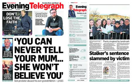 Evening Telegraph First Edition – January 28, 2019