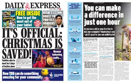 Daily Express – November 23, 2020