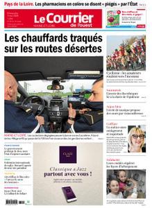 Le Courrier de l'Ouest Angers – 03 mai 2020