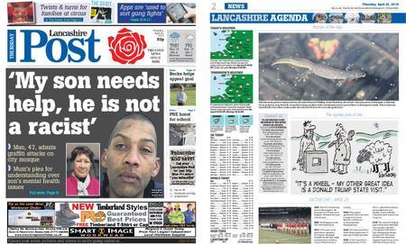 Lancashire Evening Post – April 25, 2019