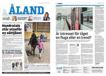 Ålandstidningen – 20 februari 2019