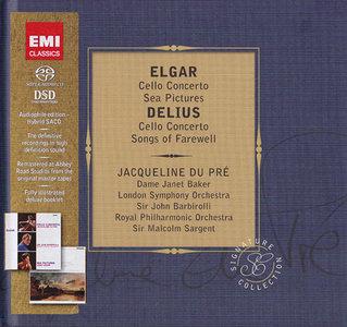 Jacqueline du Pré - Elgar, Delius: Cello Concertos (1965/2012) [EMI Classics' Remaster 2011] PS3 ISO + Hi-Res FLAC