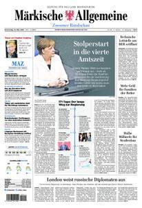 Märkische Allgemeine Zossener Rundschau - 15. März 2018