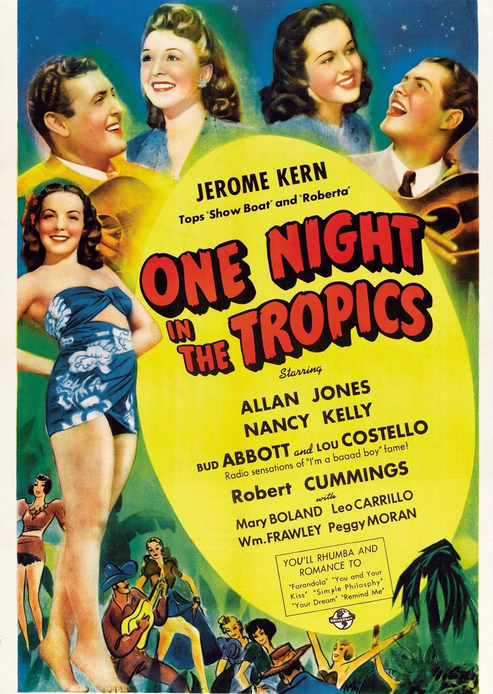 Abbott and Costello - One Night in the Tropics (1940)