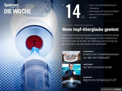 Spektrum Die Woche – 05. April 2019