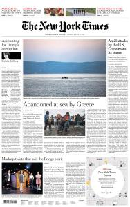 International New York Times - 17 August 2020