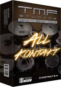 The Metal Factory Drums Bundle KONTAKT
