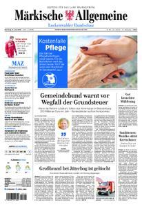 Märkische Allgemeine Luckenwalder Rundschau - 11. Juni 2019