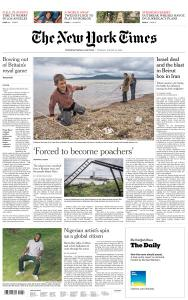 International New York Times - 18 August 2020