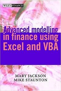 Advanced modelling in finance using Excel and VBA (Repost)