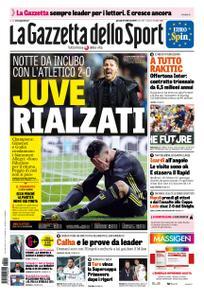 La Gazzetta dello Sport Roma – 21 febbraio 2019