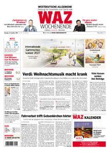 WAZ Westdeutsche Allgemeine Zeitung Oberhausen-Sterkrade - 15. Dezember 2018