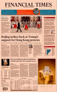 Financial Times Europe – 03 December 2019