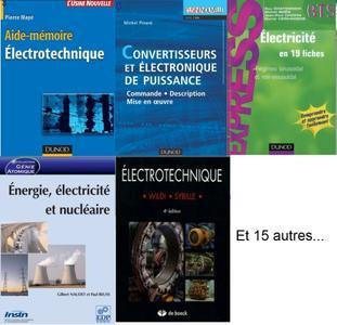 Electricité et électrotechnique - Pack de 20 eBooks