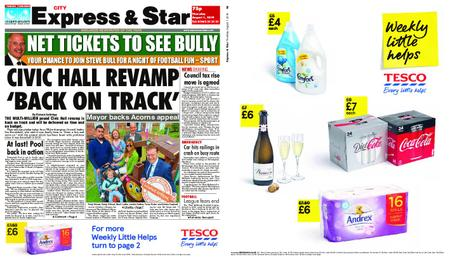 Express and Star City Edition – August 01, 2019