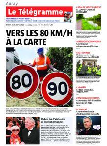 Le Télégramme Auray – 17 mai 2019