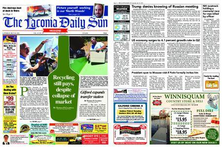 The Laconia Daily Sun – July 28, 2018