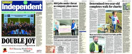 Sunday Independent Bristol Yeovil and Somerset – October 25, 2020