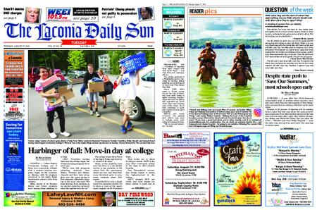 The Laconia Daily Sun – August 27, 2019