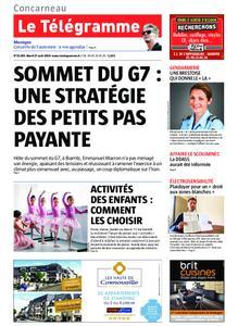 Le Télégramme Concarneau – 27 août 2019