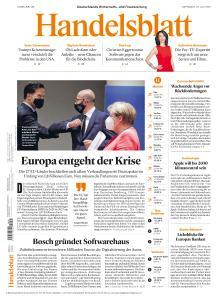 Handelsblatt - 22 Juli 2020