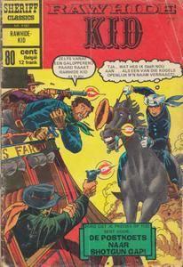 Sheriff Classics - 182 - Rawhide Kid - De Postkoets Naar Shotgun Gap