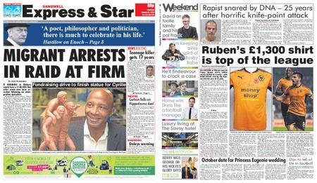 Express and Star Sandwell Edition – February 03, 2018