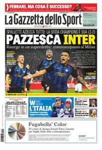La Gazzetta dello Sport – 18 marzo 2019