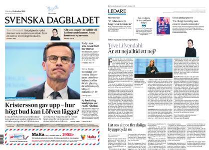 Svenska Dagbladet – 15 oktober 2018