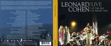 Leonard Cohen - Live At The Isle Of Wight 1970 (2009) [CD, DVD & BDRip 720p]