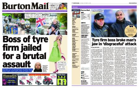 Burton Mail – October 15, 2018